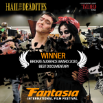 And the Bronze Audience award for Best Documentary goes to…